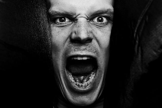 angry screaming face - photo #26